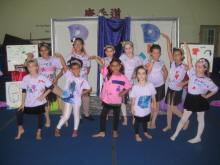 Dancers from the Ready, Set, Dance Summer Camp