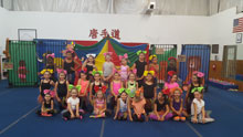 Art of the Circus camp!  Summer 2016