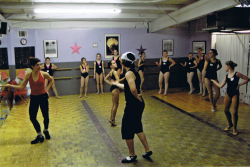 Dancers from the Ready, Set, Dance Phantom of the Opera Workshop